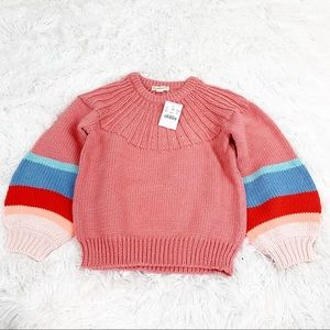 J Crew Girl's Chunky Cotton Sweater size 8